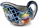 Talavera Gravy Boat - Yellow Cross