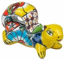 Small Talavera Squirrel Statue