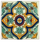 Talavera Tile - PP2184 - 15 Tiles