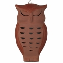 Terra Cotta Owl Wall Decoration