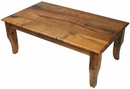 Mesquite Curved Leg Coffee Table