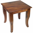 Mesquite Curved Leg End Table