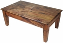 Mesquite Tapered Leg Coffee Table