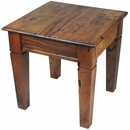 Mesquite Tapered Leg End Table