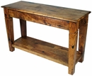 Mesquite Tapered Leg Sofa Table