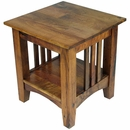 Mesquite Mission Slat End Table