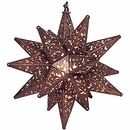 Small Ornate Star Fixture