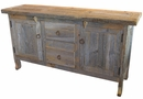 Rustic Barnwood Natural Buffet