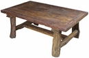 Old Wood Ranch Rustic Coffee Table