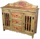 Colonial Buffet with Spindle Doors