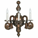 Mexican Colonial Wall Lamp - Three Arm