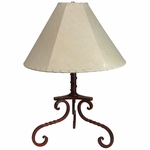 Rustic Iron Magdelena Table Lamp