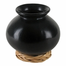 Small Black Clay Oaxacan Pot