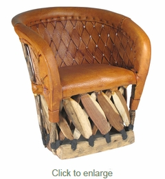 Woven Back Equipale Child's Chair
