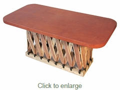 Equipale Rectangular Coffee Table