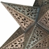 Mexican Tin Hanging Star Lamp