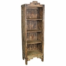 Small Painted Wood Santa Fe Bookcase - Natural