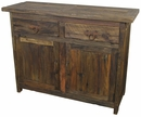 Mexican Barnwood Buffet - 2 Doors - 2 Drawers
