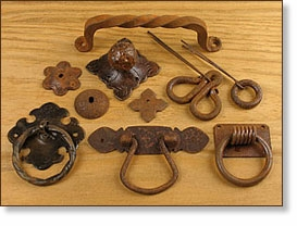 Rustic Iron Drawer Pulls, Knobs & Handles