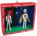 Day of the Dead Angel/Devil Diorama