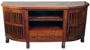 Mesquite Curved Entertainment Center
