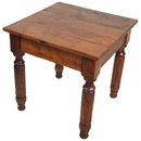 Mesquite Colonial Style End Table