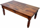 Colonial Style Mesquite Coffee Table
