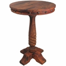 Tall Round Mesquite Bistro Table