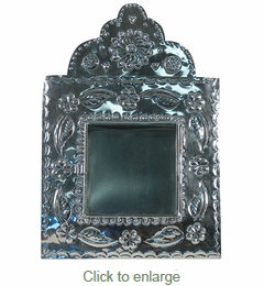 Natural Tin Shadow Box - Nicho
