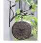 Bird on Branch Clock & Thermometer by SPI Home