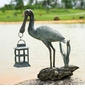 Spoonbill Lantern by SPI Home