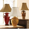 Vietri Italian Pottery Table Lamps
