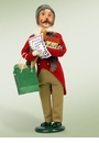 Byers Choice Carolers Traditional Man Shopper Doll