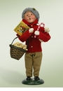 Byers Choice Carolers Traditional Boy Shopper Doll