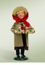 Byers Choice Carolers Girl with Duster Doll