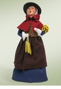 Byers Choice Carolers Pilgrim Woman Doll