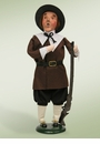Byers Choice Carolers Pilgrim Man Doll