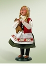 Byers Choice Carolers Gretel Doll