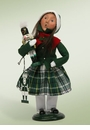 Byers Choice Carolers Girl with Nutcracker Doll