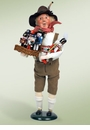 Byers Choice Carolers Nutcracker Vendor Doll