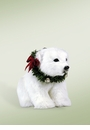 Byers Choice Carolers Seated Polar Bear Cub Doll