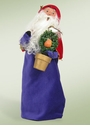 Byers Choice Carolers Partridge in Pear Tree Santa