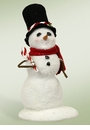 Byers Choice Carolers Small Snowman with Candy Canes Doll