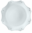 Juliska Dinnerware Berry and Thread Scallop Charger Plate - Whitewash
