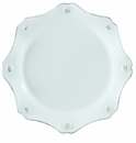 Juliska Dinnerware Berry and Thread Scallop Dessert Plate - Whitewash