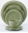 Juliska Dinnerware Berry and Thread 5 Piece Set - Green