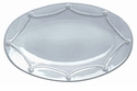 Juliska Dinnerware Berry and Thread Medium Oval Platter - Whitewash