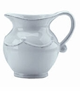 Juliska Dinnerware Berry and Thread Small Pitcher - Whitewash