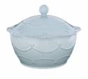 Juliska Bakeware Berry and Thread Small Covered Casserole - Blue