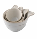 Juliska Berry and Thread Measuring Cup Set of 4 Whitewash